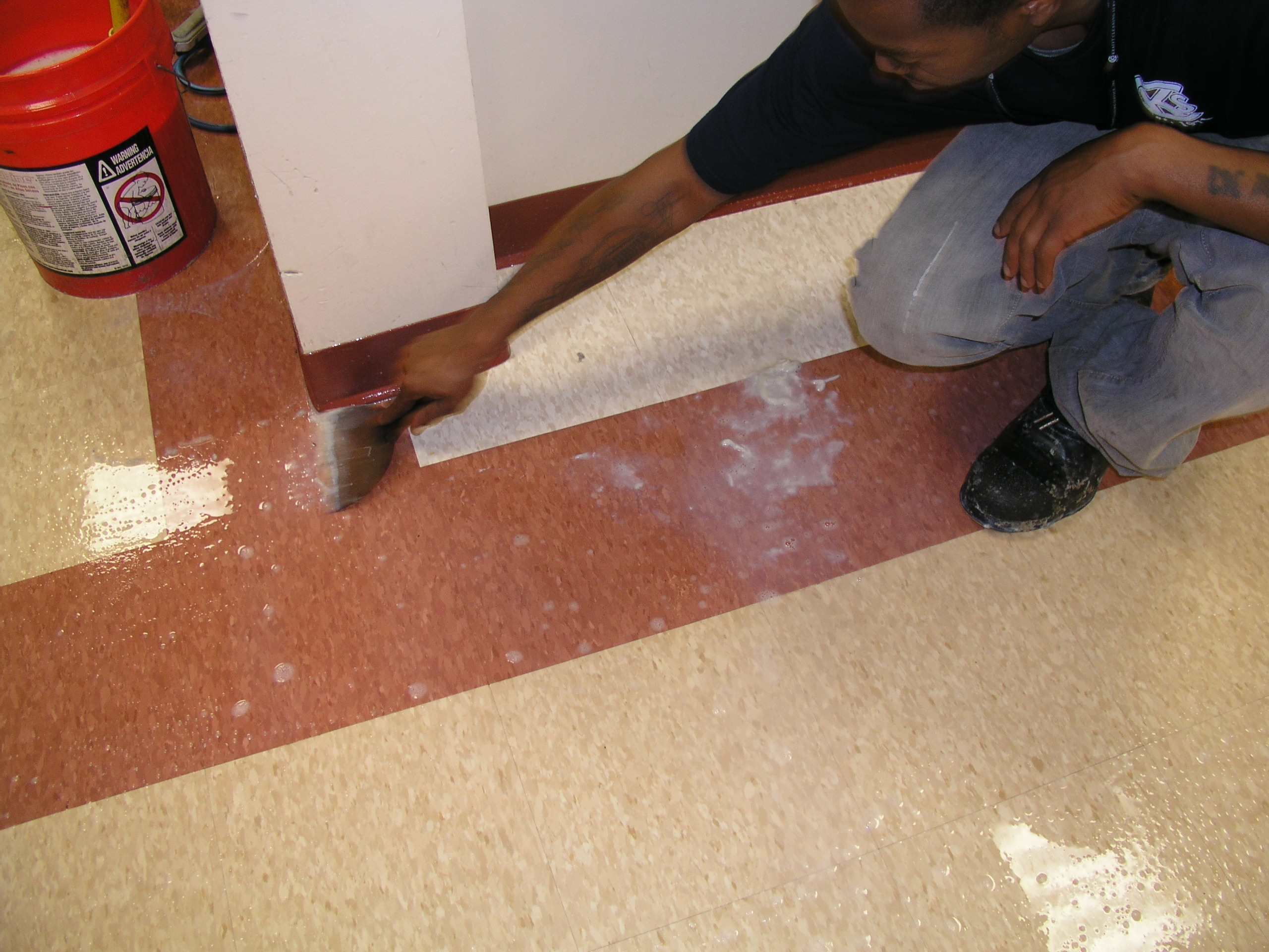 floor tile stripping and refinishing | krafft cleaning service, inc.